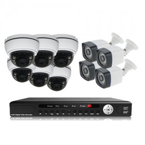 پکیج دوربین مداربسته AHD سانی Sany CCTV Camera Package 10Pcs
