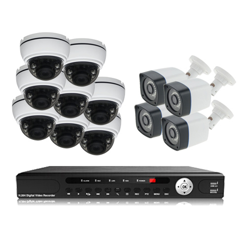 پکیج دوربین مداربسته AHD سانی Sany CCTV Camera Package 12Pcs