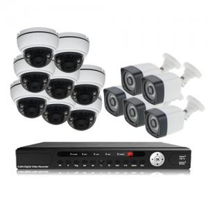 پکیج دوربین مداربسته AHD سانی Sany CCTV Camera Package 13Pcs