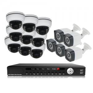 پکیج دوربین مداربسته AHD سانی Sany CCTV Camera Package 14Pcs