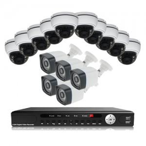 پکیج دوربین مداربسته AHD سانی Sany CCTV Camera Package 15Pcs