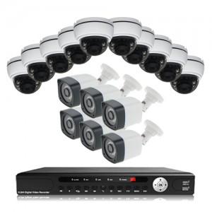 پکیج دوربین مداربسته AHD سانی Sany CCTV Camera Package 16Pcs