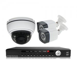 پکیج دوربین مداربسته AHD سانی Sany CCTV Camera Package 3Pcs