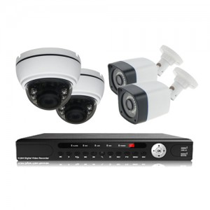 پکیج دوربین مداربسته AHD سانی Sany CCTV Camera Package 4Pcs