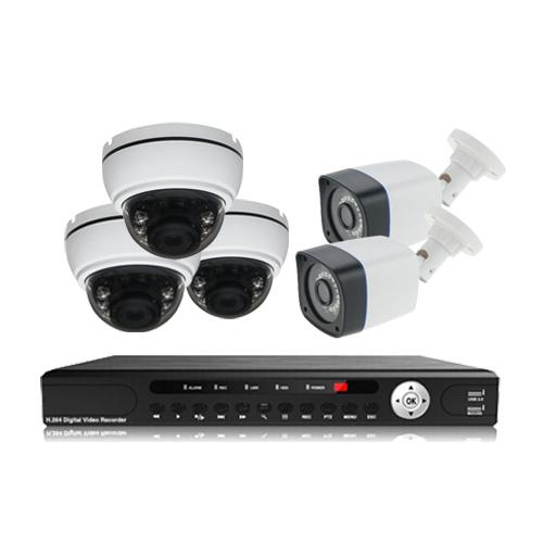 پکیج دوربین مداربسته AHD سانی Sany CCTV Camera Package 5Pcs