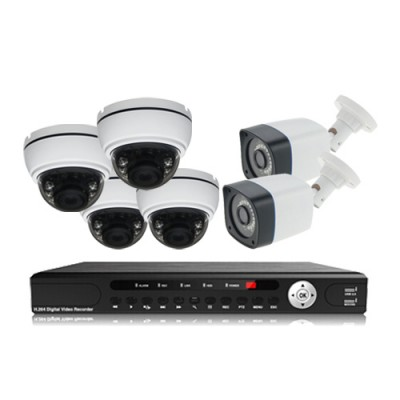 پکیج دوربین مداربسته AHD سانی Sany CCTV Camera Package 6Pcs