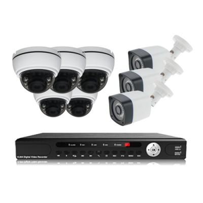 پکیج دوربین مداربسته AHD سانی Sany CCTV Camera Package 8Pcs