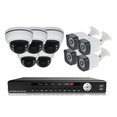 پکیج دوربین مداربسته AHD سانی Sany CCTV Camera Package 9Pcs