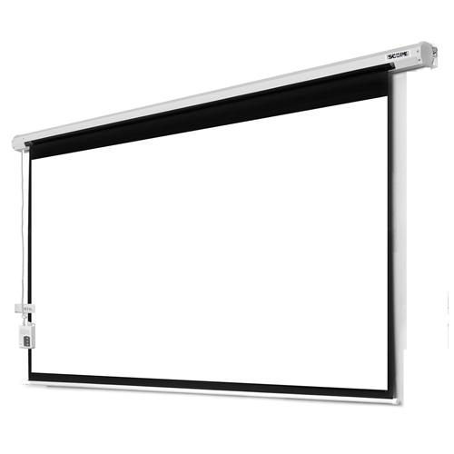 پرده نمایش برقی پروژکتور اسکوپ 180×180 Scope Motorized Projector Screen Electric