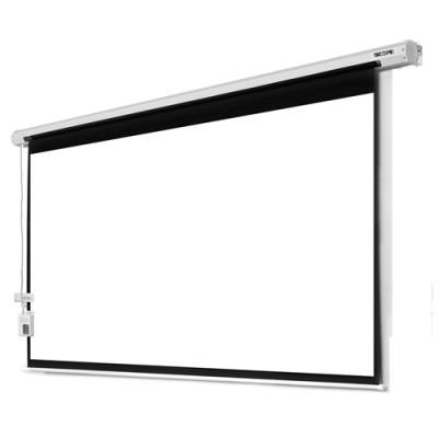 پرده نمایش برقی پروژکتور اسکوپ 250×250 Scope Motorized Projector Screen Electric