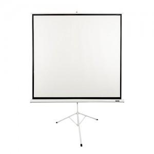 پرده نمایش پایه دار ویدئو پروژکتور اسکوپ 180×180 Scope Tripod Projector Screen