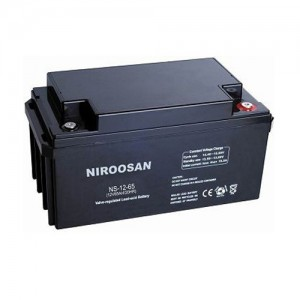 باتری یو پی اس سیلد لید اسید UPS sealed lead acid battery 12V-100Ah نیروسان