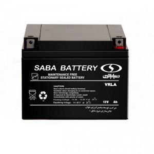 باتری یو پی اس سیلد لید اسید UPS sealed lead acid battery 12V-65Ah صبا باتری
