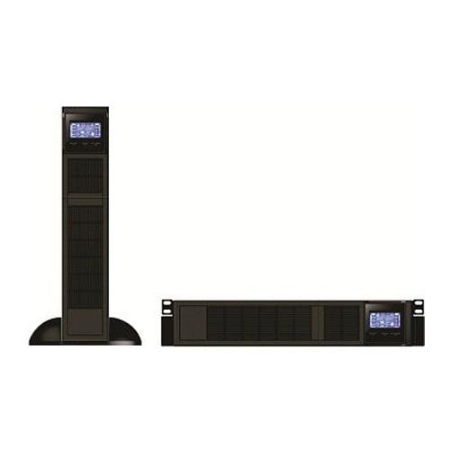 یو پی اس آنلاین تک فاز رک مونت UPS 1KVA باتری خارجی Niroosan Hitech-Rackmount Online